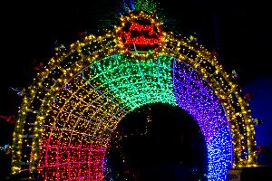 the seventh annual cambria christmas market will feature an additional million christmas lights this year for a total of two million lights