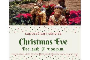 Christmas Eve Candlelight Service -at- North Scottsdale UMC