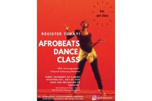 Afrobeats Dance Class   Arizona Events